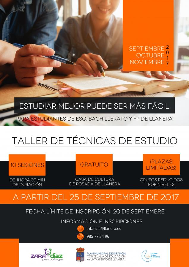 Cartel Tecnicas-Estudio
